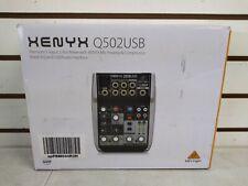 Behringer Xenyx Q502Usb 5-input Mixer With Usb (Shelf 27)(J)