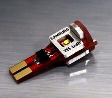 2XBANDI White 5900K SAMSUNG 5252 LED Back Up Reverse Taillight Bulbs - T15 Type