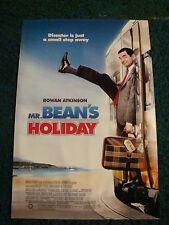 MR. BEAN'S HOLIDAY - MOVIE POSTER WITH ROWAN ATKINSON