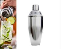 Cocktail Shaker Stainless Steel 500ml Bar Home Party Mixer Bartender Tool Bar OZ