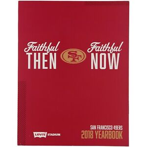 2018 SAN FRANCISCO 49ERS OFFICIAL YEARBOOK JIMMY GAROPPOLO NEW IN STOCK