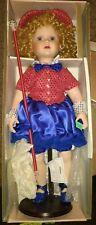 """Seymour Mann The Connoisseur Doll Collection, """"BABY TAKE A BOW"""" + USA wind chime"""
