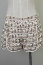 JCrew Maison Kitsune Mini High Waist Shorts Size 38