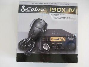 Cobra 19DXIV Professional Mobile Compact CB Radio - Truck Marine RV Boat