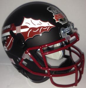 FLORIDA STATE SEMINOLES NCAA Schutt XP Authentic MINI Football Helmet
