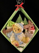 1999 Cherished Teddies ~ #534668 ~ 3D Wall Plaque Ornament ~ Priscilla Hillman