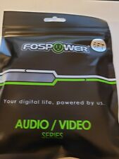 New listing Fospower Toslink Digital Fiber Optic Optical Audio Cable 6Ft. New Free Shipping