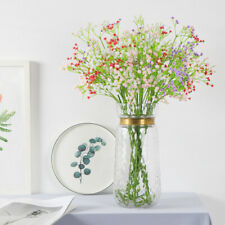 Bouquet of gypsophila artificial flowers decorate the living room bedroom