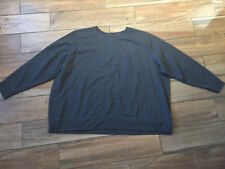Just My Size 5X 30 32 Grey Sweatshirt