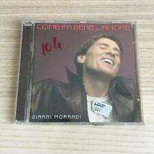 Gianni Morandi - Come Fa Bene l'Amore - CD Album - 2000 BMG