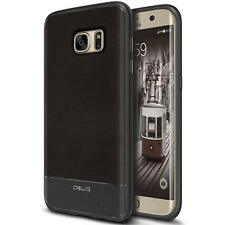 Galaxy S7 Edge Case, OBLIQ Flex Pro Espresso Premium PU Leather Slim Fit (W15)