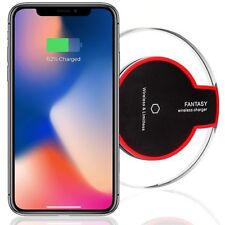 Wireless Charging Charger Pad for Galaxy S8 S9 Plus S7 Edge iPhone 8 Plus XS XR