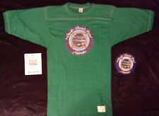 """Vintage Charlie Daniels Band """"Nightrider"""" Concert Tee & Back Stage Pass"""