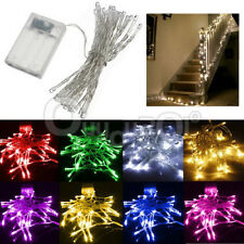 Battery Operated 20/30/40/50/80 LED Christmas Wedding Party String Fairy Lights