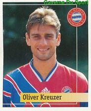 004 OLIVER KREUZER GERMANY FC BAYERN MUNCHEN STICKER FUSSBALL 1995 PANINI