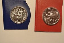 2016 P & D Roosevelt Dime Two Coin Uncirculated Set From US Mint Set