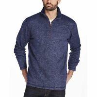 NEW! Weatherproof Vintage Men's 1/4 Zip Pullover Sweater VARIETY SIZE & E31