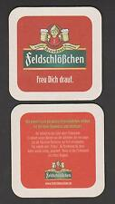 BD , Bierdeckel ,Coaster , Brauerei Feldschlößchen , Dresden / Sachsen
