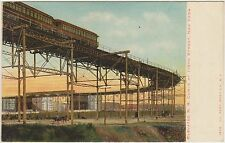 ELEVATED R.R.RAIL ROAD CURVE AT 110 TH STREET - NEW YORK (USA U.S.A.)
