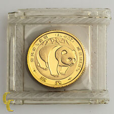 1983 1/20 oz Chinese Gold Panda 5 Yuan Coin (BU) Brilliant Uncirculated