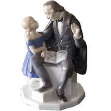 "Bing & Grondahl 2037 ""Hans Christien Andersen Reading to Little Girl"", No Box"