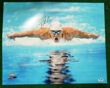 MICHAEL PHELPS signed/autographed 16x20 Photo Team USA Olympics--PSA DNA