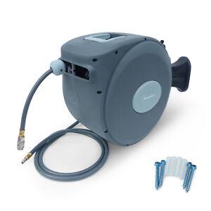Druckluftschlauch Schlauchtrommel Aufroller KW120 mit Kupplung 20m
