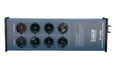 Taga Audio PF-1000 Netzleiste Netzfilter mit Eupen Ferrit Netzkabel, NEU!