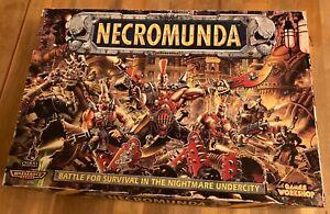 Necromunda original Cardboard & Bulkheads (x44) Scenery / Terrain Outlanders OOP