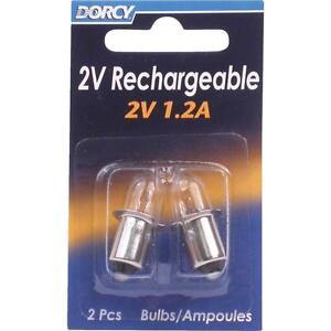 Dorcy 2V Flashlight Bulb