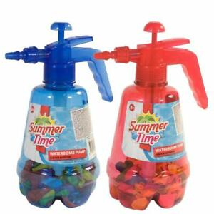 2 x 500 Water Balloons with 2 Filling 3in1 Spray Bottle Summer Outdoor Party Fun