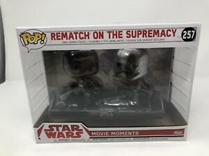 "REMATCH ON THE SUPREMACY Star Wars Pop Movie Moments 4"" Vinyl Figure Box Set 257"