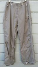 Obermeyer Dynasty Shell Pant Tan Ski Snow Board Pants Wms 6