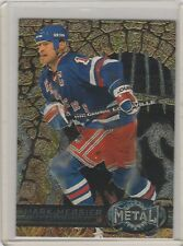 1996-97 Fleer Metal #99 Mark Messier New York Rangers