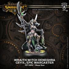 Warmachine: Cryx - Wraith Witch Denegrha Resculpt - Warcaster PIP 34098 NEW