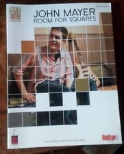 JOHN MAYER●ROOM FOR SQUARES●CHERRY LANE●HAL-LEONARD●GUITAR●13 SONGS●NEW●COMPLETE