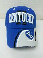 University Kentucky UK Wildcats Blue NCAA Logos Hat/Strap Back Ball Cap T79