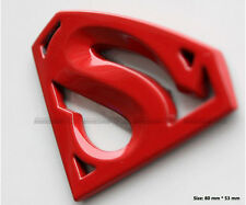 D330 Super man auto aufkleber 3D Emblem Badge Rot car Sticker Super mann