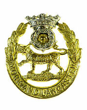 YORK AND LANCASTER REGIMENT CLASSIC GENUINE CAP BADGE