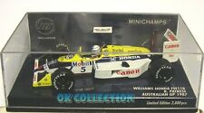 Minichamps 1:43_ WILLIAMS HONDA FW11B - R. PATRESE - AUSTRALIAN GP 1987
