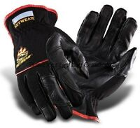 Setwear Hot Hand Leather Gloves High Temp Heat Lighting  Size: LARGE