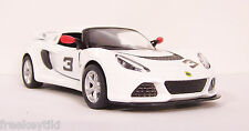 WHITE 2012 '12 LOTUS EXIGE S # 3  Vehicle Diecast 1/32 Pull Back Sportscar  NEW