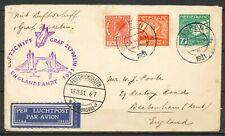 LUFTSCHIFF GRAF ZEPPELIN ENGLANDFAHRT 1931 ASSEN via FRIEDRICHSHAFEN 18.8.31 467