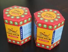 2 x 30g TIGER BALM RED OINTMENT - NEW JARS ARTHRITIS JOINT PAIN SHIPPED FROM USA