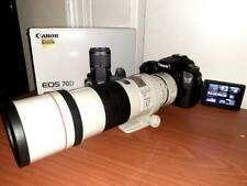 Canon EF 300mm f/4 L IS USM Lens EOS 70D 20.2MP Digital SLR Camera Extender 1.4x