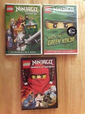 Ninjago Masters of Spinjitzu - MOVIE, and Season 1 & first 7 episode of Season 2