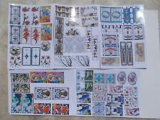 35 double Stained Glass Windows,5 TRANSPARENT Stickers sheets SELFADHESIVe