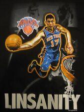 LINSANITY Jeremy Lin New York Knicks Majestic T-Shirt Adult size Large