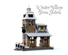 Constructibles Winter Village Train Station