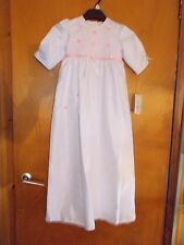 Harald Gloockler 'Princess For A Day' Christening Robe 7-9m 74cm White Mix BNWT